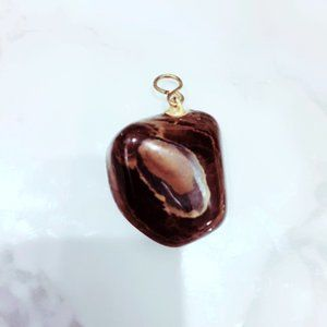 Brown Stone Pendant Boho